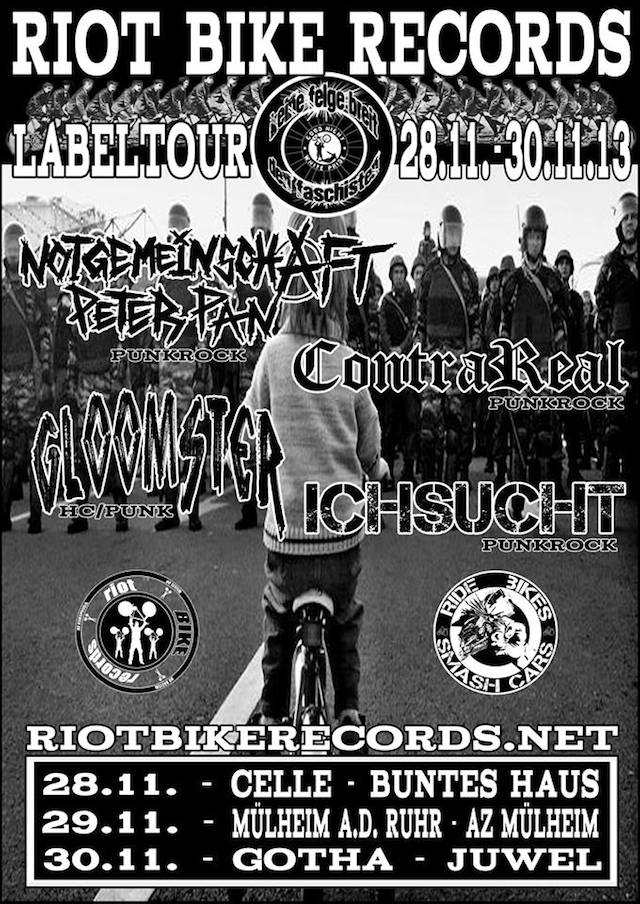 Flyer Labeltour 2013